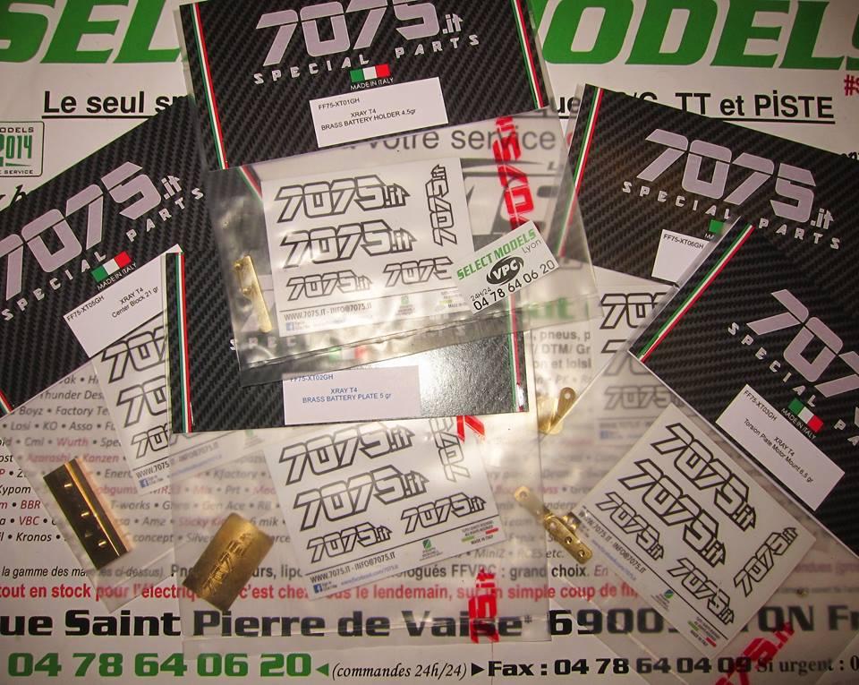 Toute la gamme 7075 pour la T4 xray