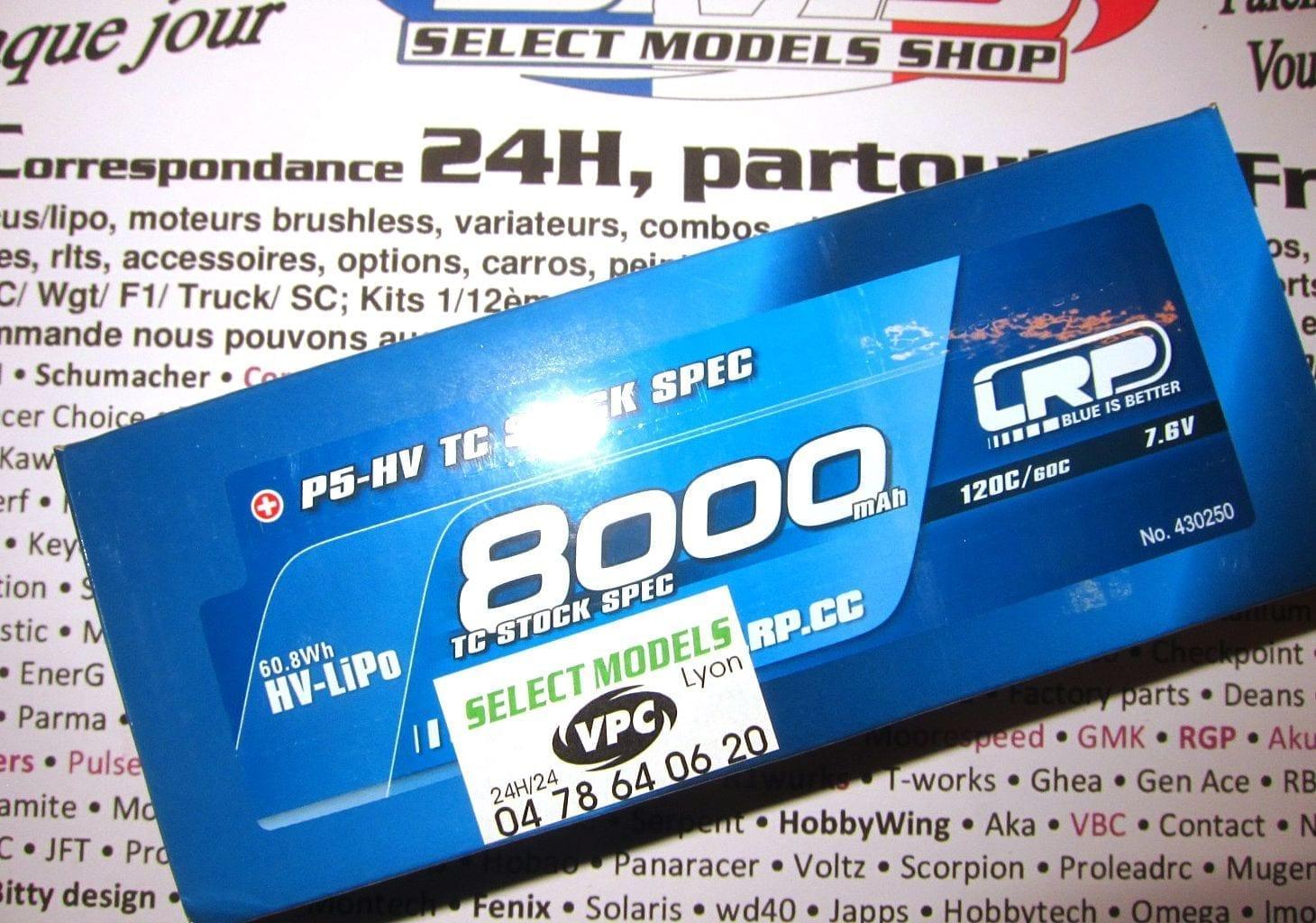 LRP 8000 120c 7.6V