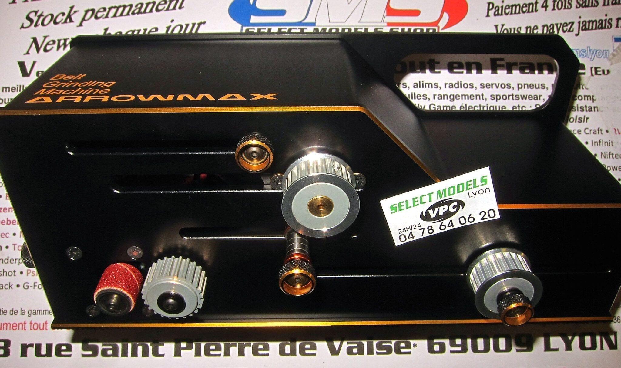 Machine Arrowmax  pour courroies