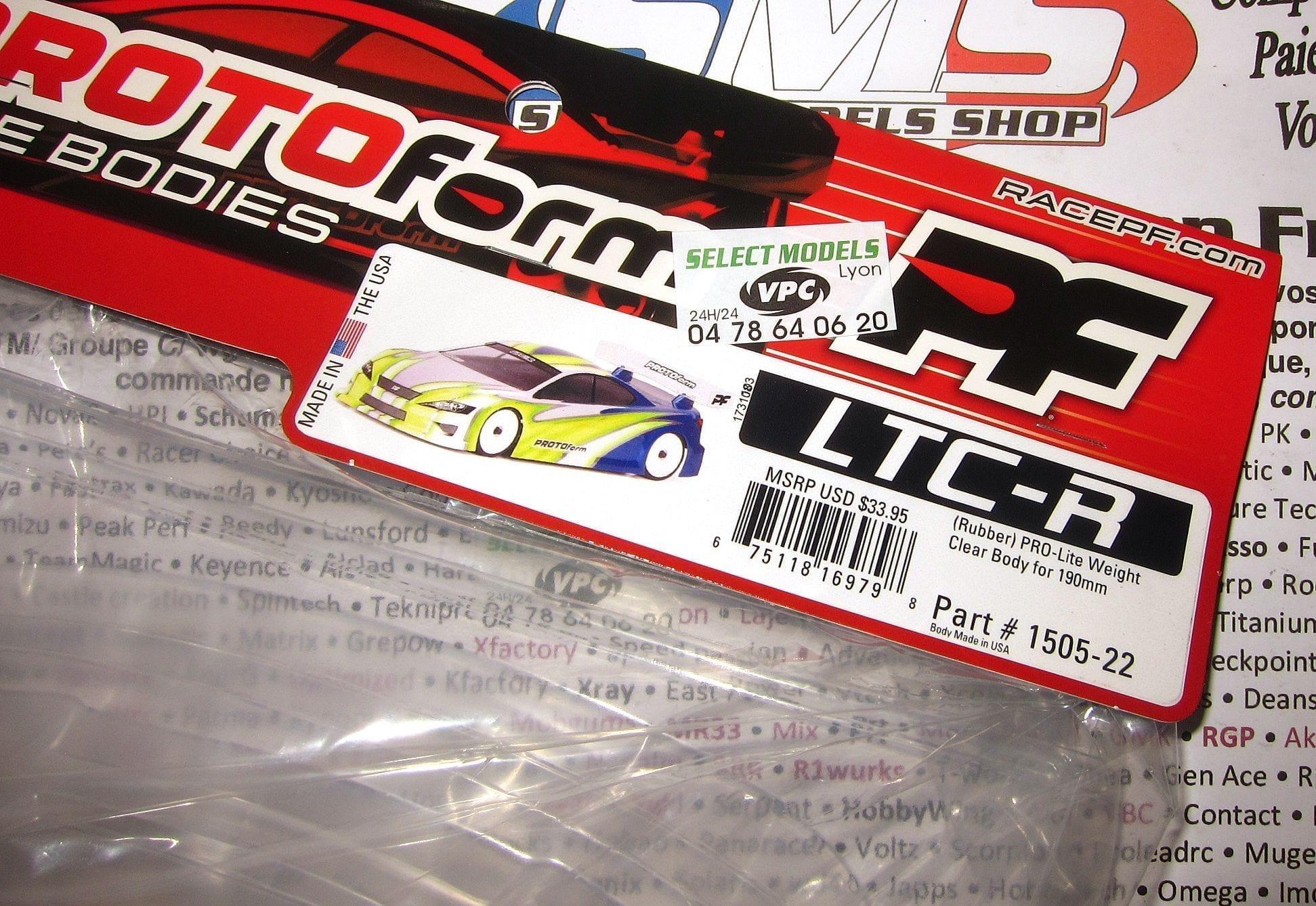 Carro Pro-lite Ltc-r et Speed 6