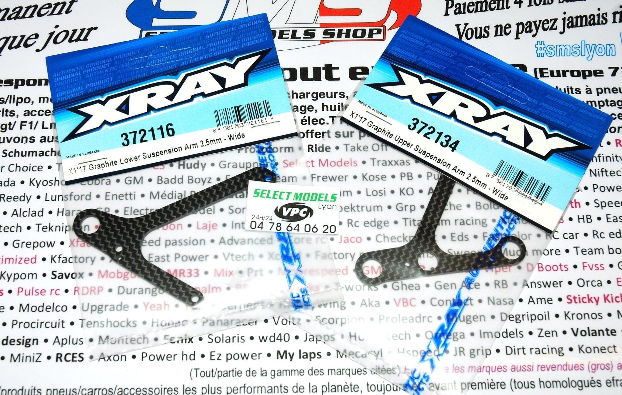 Bras av larges pour X1 Xray