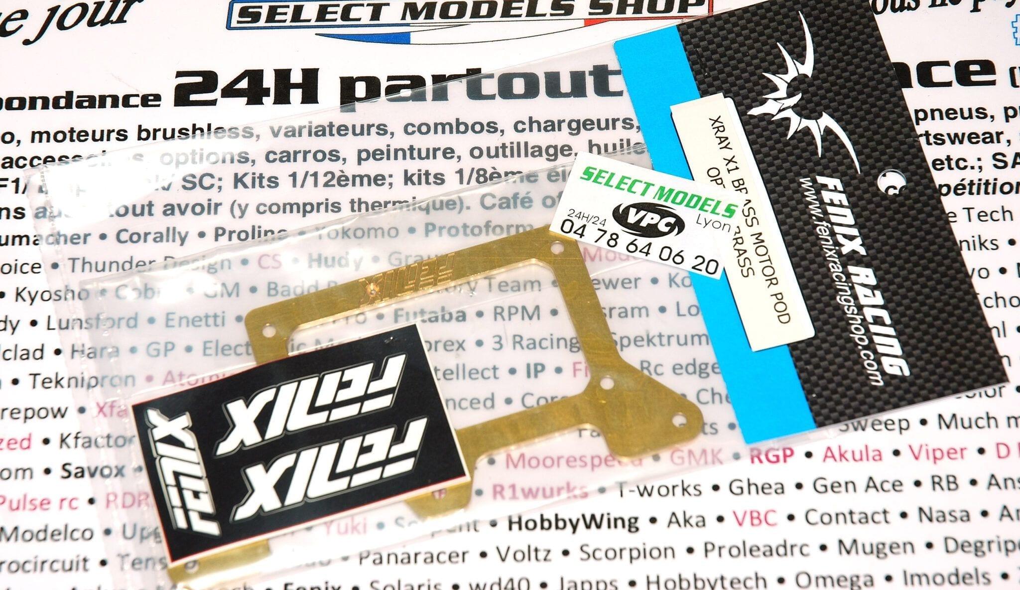 Plaque inférieure de pod Ar X1 en laiton