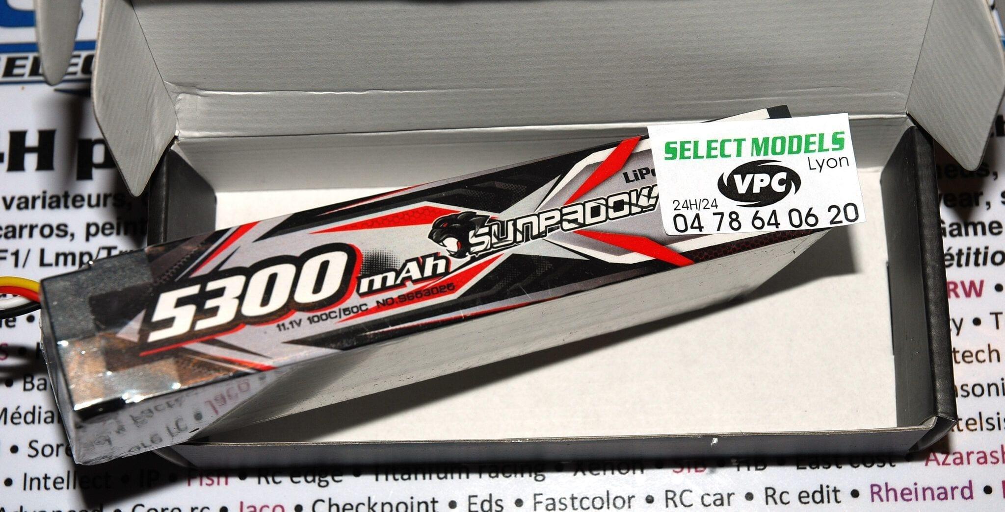 Sunpadow 3S 5300 100c 4mm taille standard