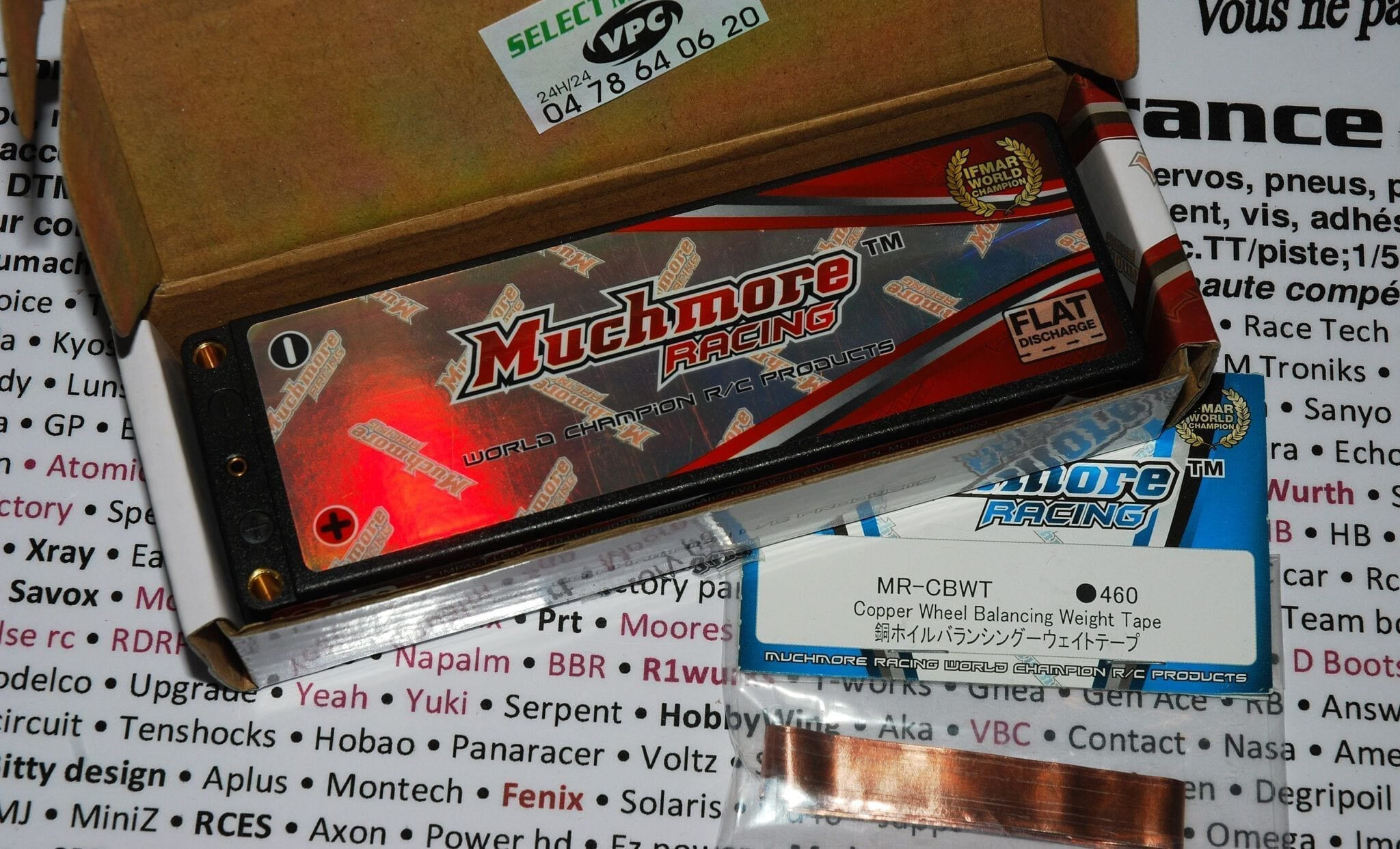 Lipo MuchMore 6000 120C LCG 7.6V 4mm Maxpunch