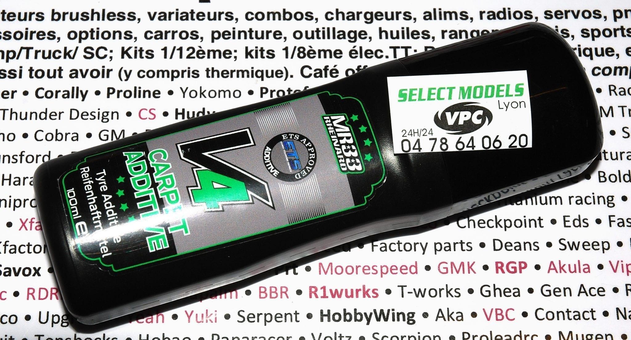 Produit à pneu indoor mr33 V4
