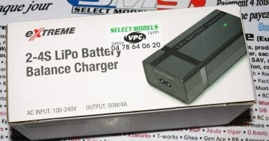 Chargeur 4A lipo