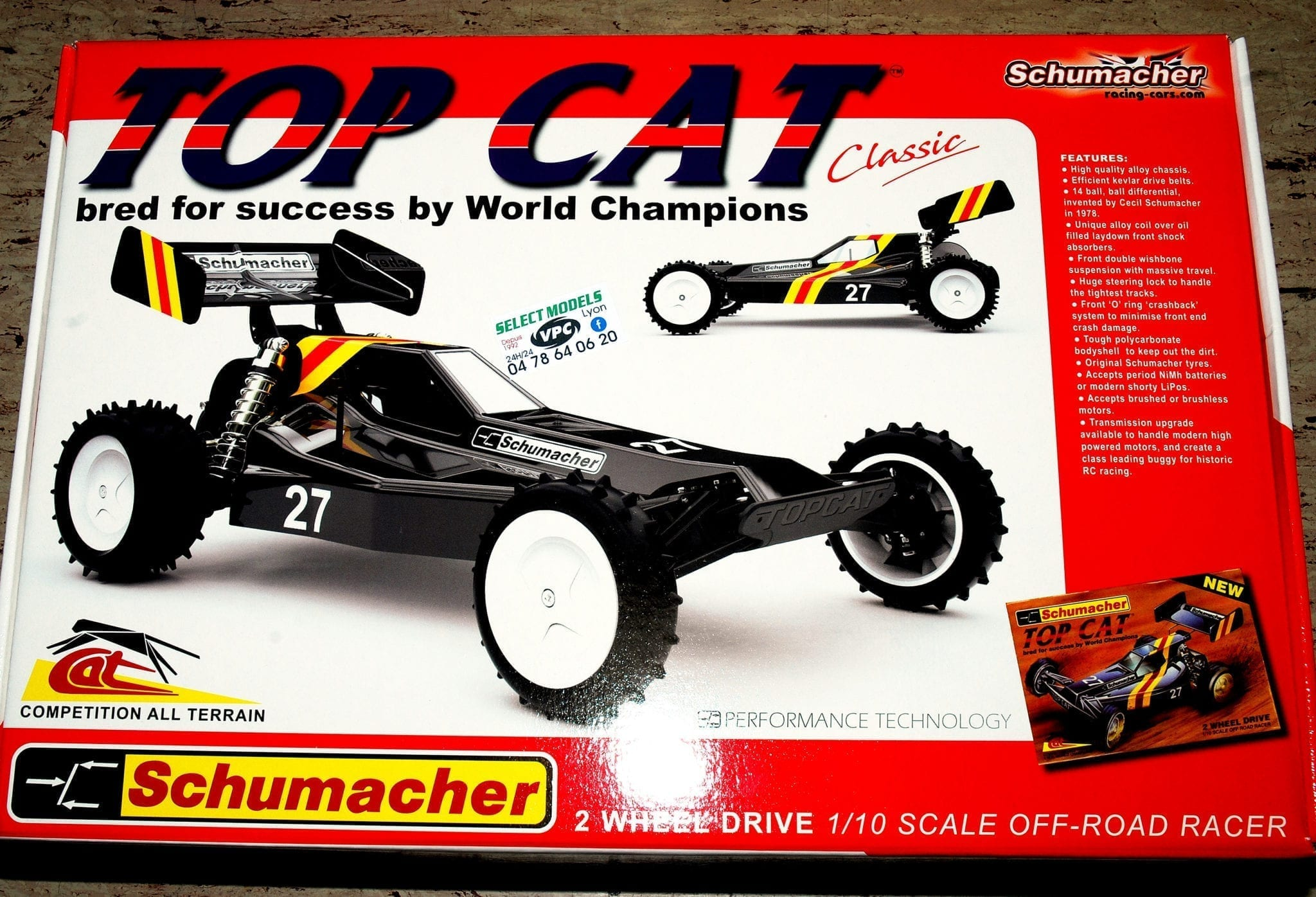 TOP CAT Schumacher