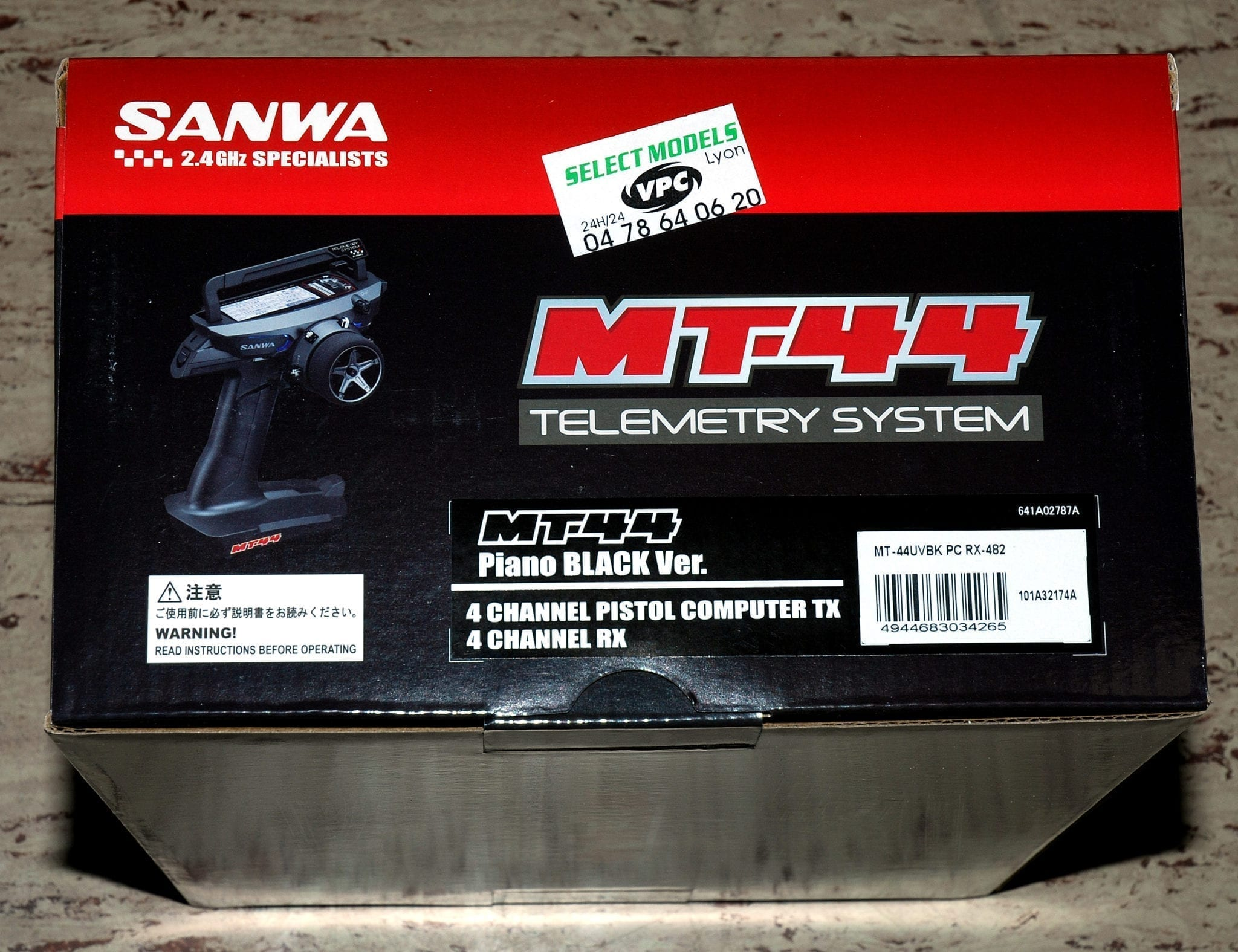 MT44 version Piano Black Sanwa