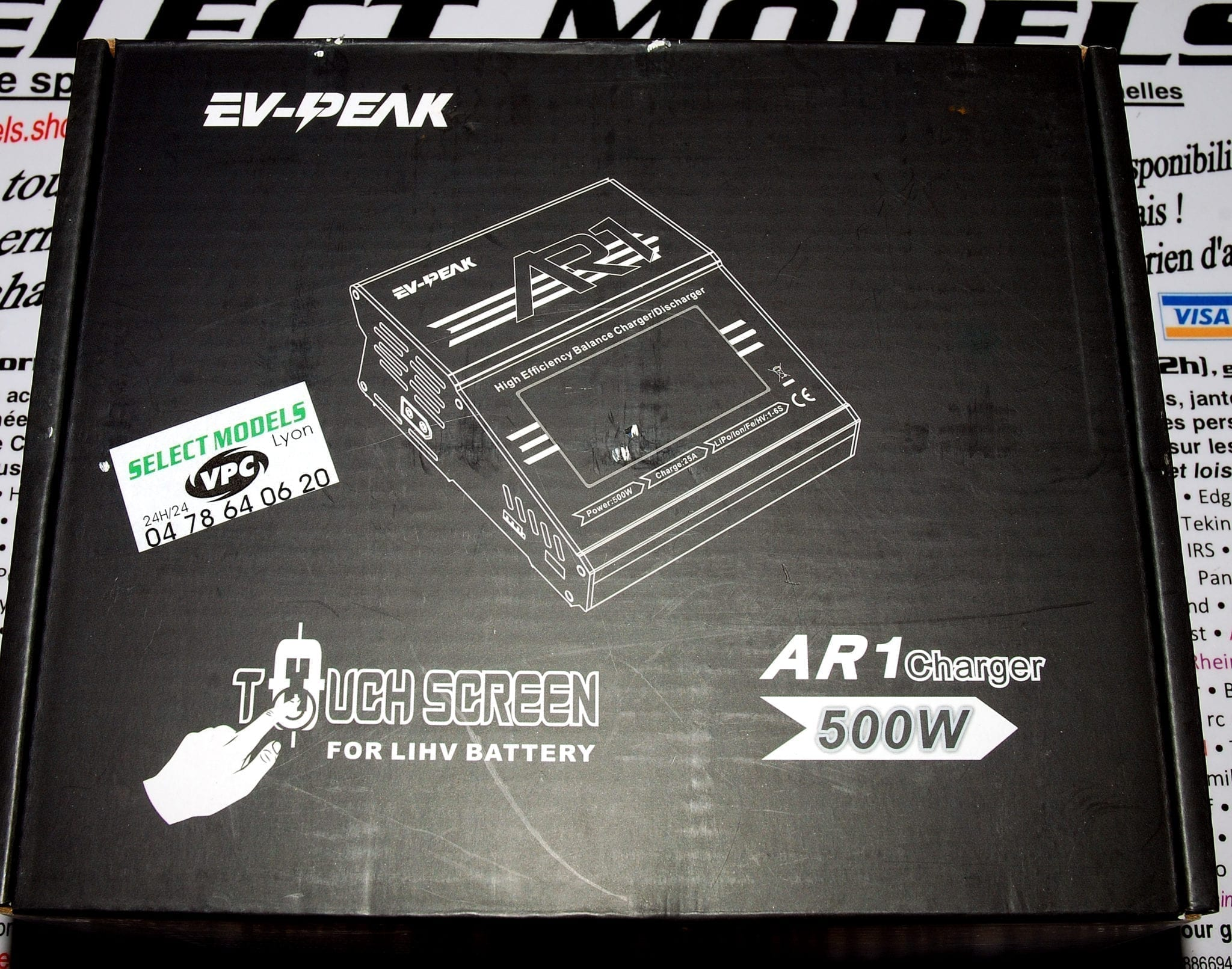 Chargeur AR1 noir EV-PEAK