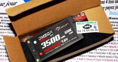 Promo shorty rc concept 120c 7.6v 3500