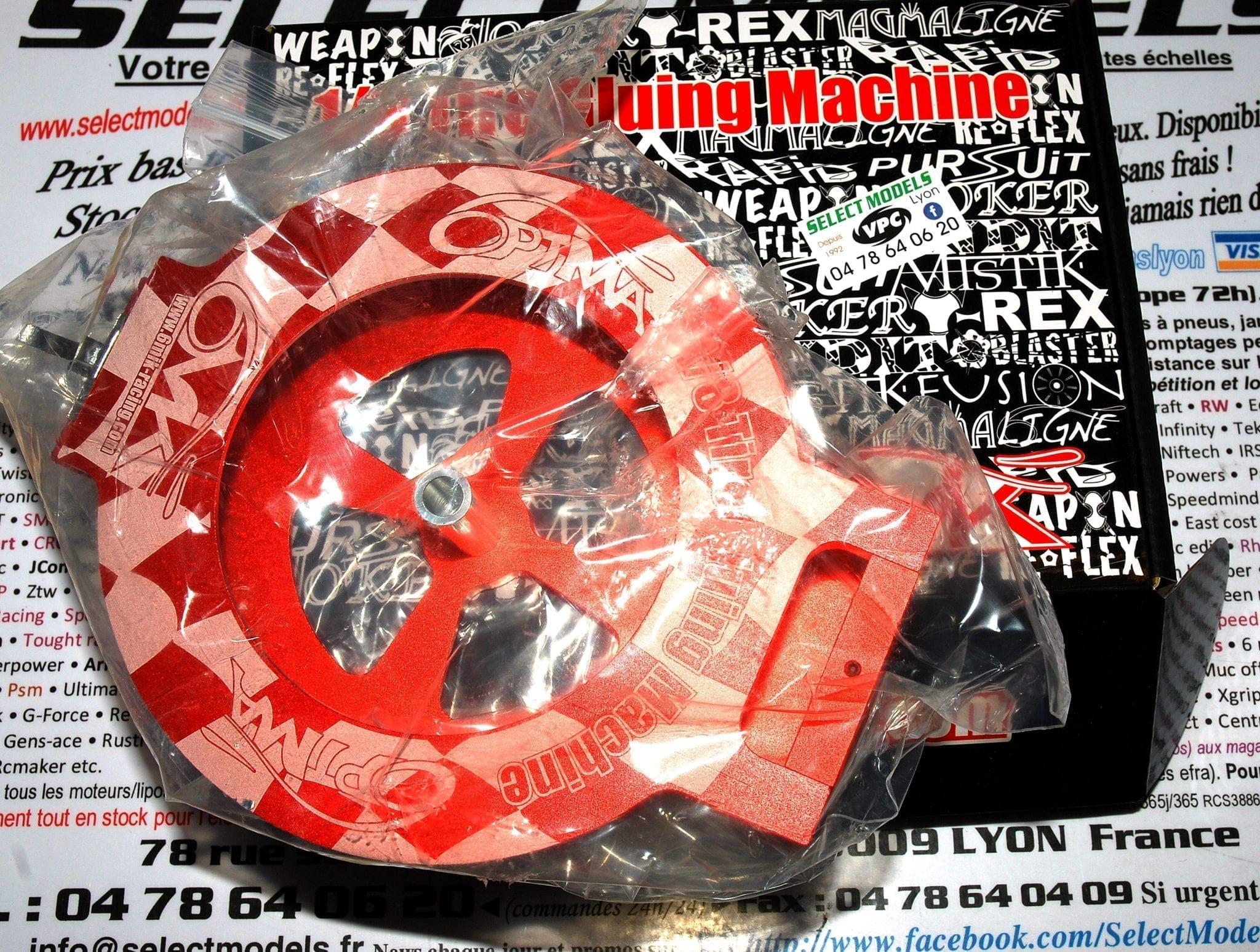 Boite de collage pneus TT 1/8ème 6Mik