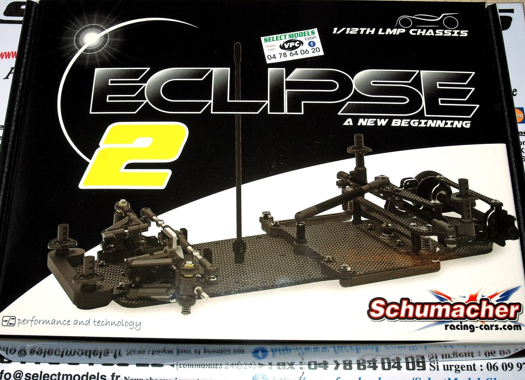 Eclipse2 1/12ème pan car compet