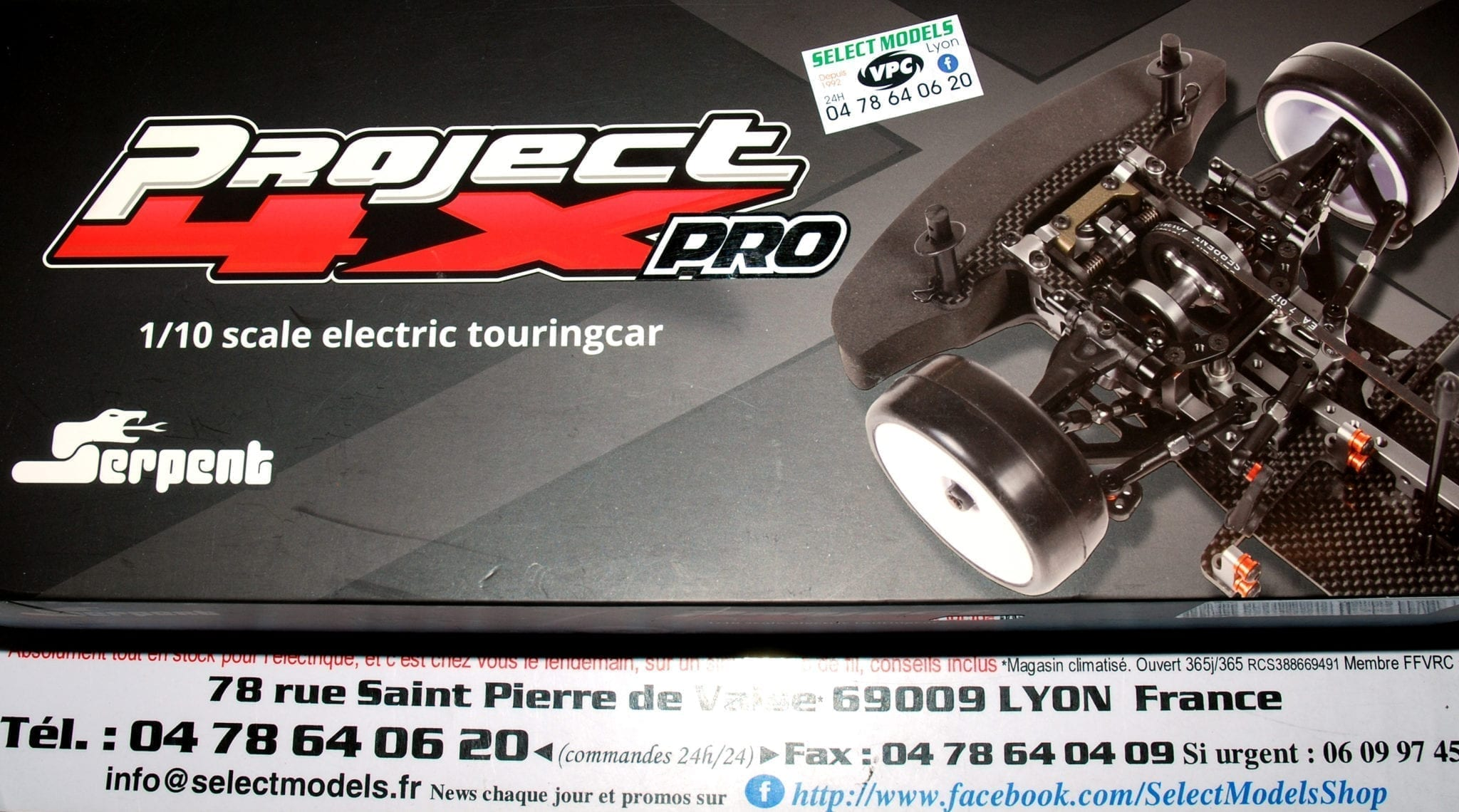 Project 4X pro Serpent 190mm