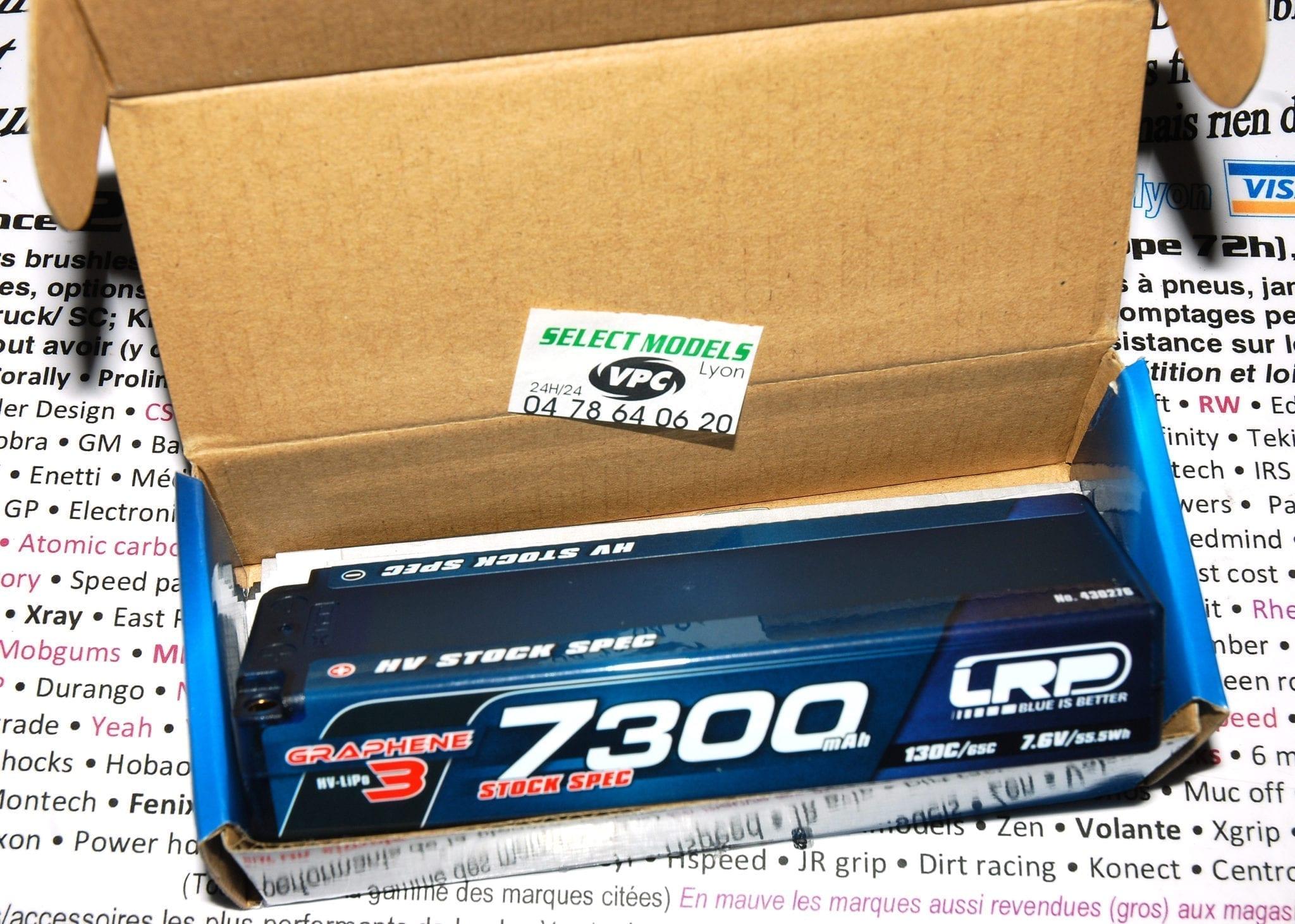 LRP 7300 130c graphene3 HV 5mm