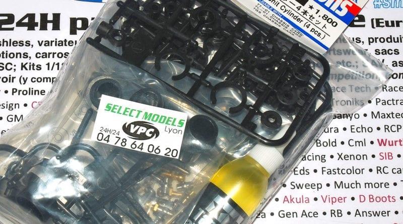 Amortisseurs hydrauliques 53619 Tamiya