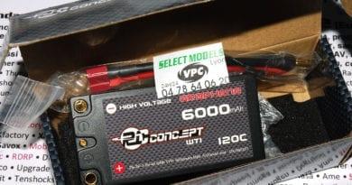 Lipo RC Concept shorty 6000 120C 7.6V hv