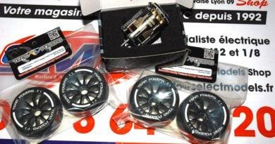 Pneus F1 Team Powers, moteur 21.5