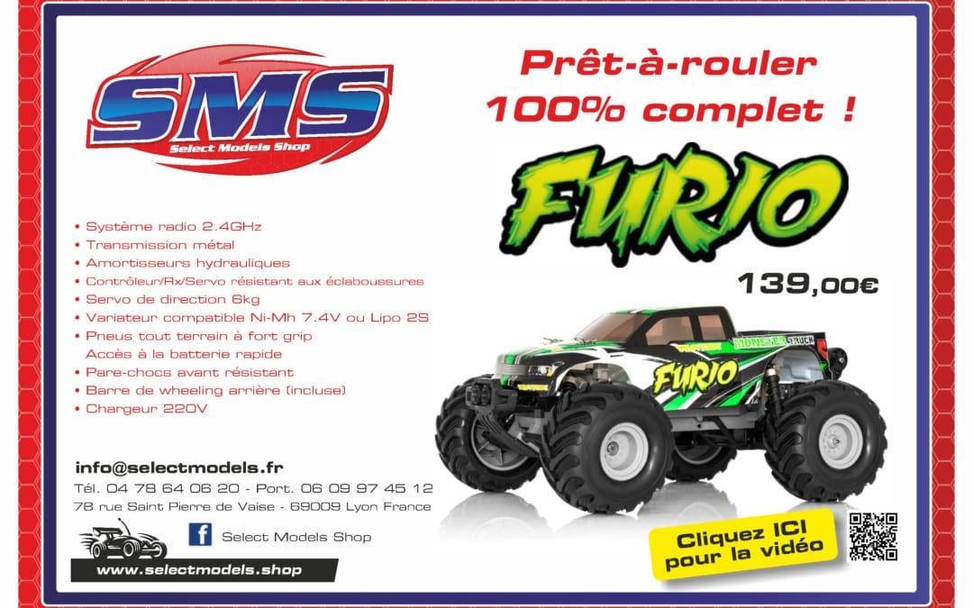 Monster truck 1/10 Funtek Furio