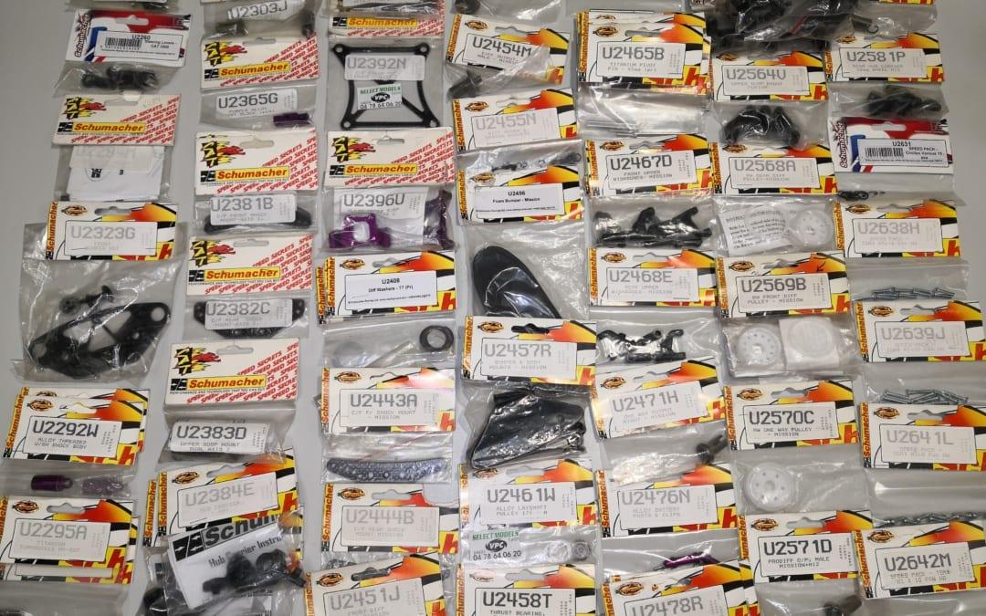 Pièces Vintage Schumacher 1 SST AXIS AXIS2 MISSION MI2 MI3 MI4 Sxougar SV