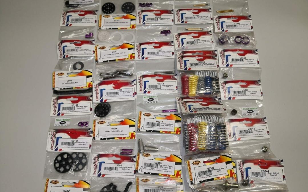 Pièces Vintage Schumacher 3 SST AXIS AXIS2 MISSION MI2 MI3 MI4 Sxougar SV